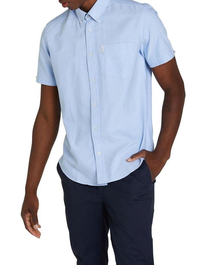 Short Sleeve Signature Oxford Shirt image 2