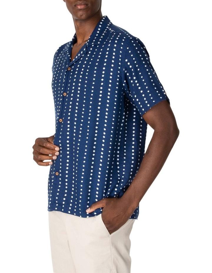 Short Sleeve Viscose Print Shirt image 1