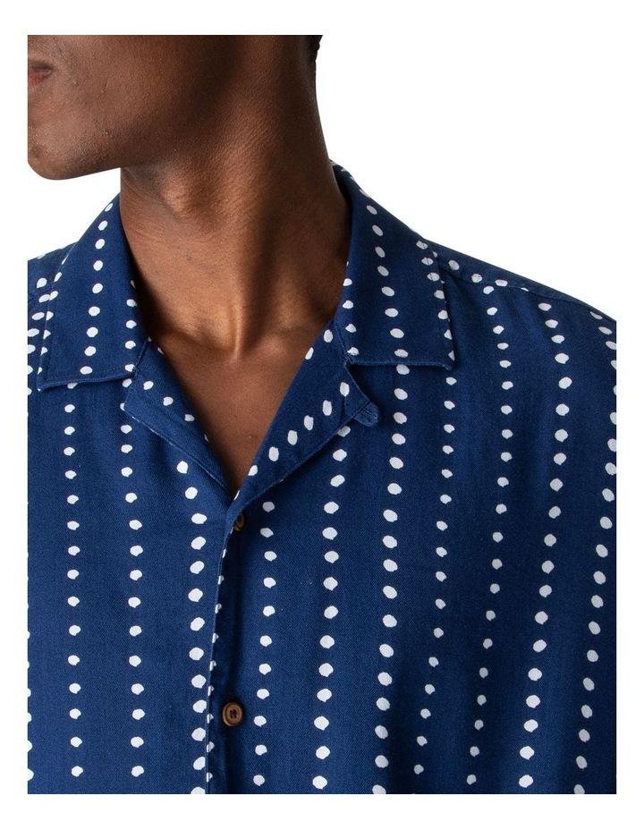 Short Sleeve Viscose Print Shirt image 3