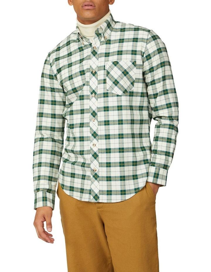 Laundered Oxford Tartan Long Sleeve Shirt image 1