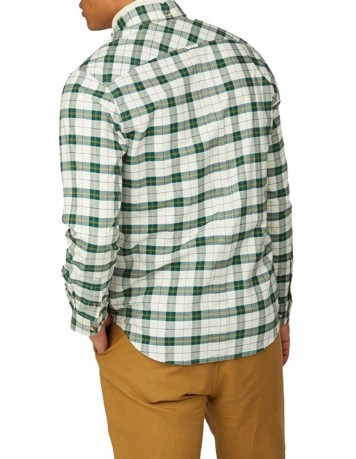 Laundered Oxford Tartan Long Sleeve Shirt image 2