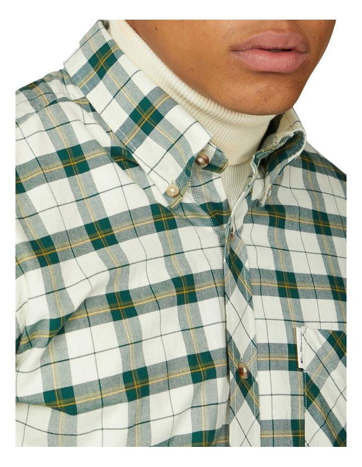 Laundered Oxford Tartan Long Sleeve Shirt image 3
