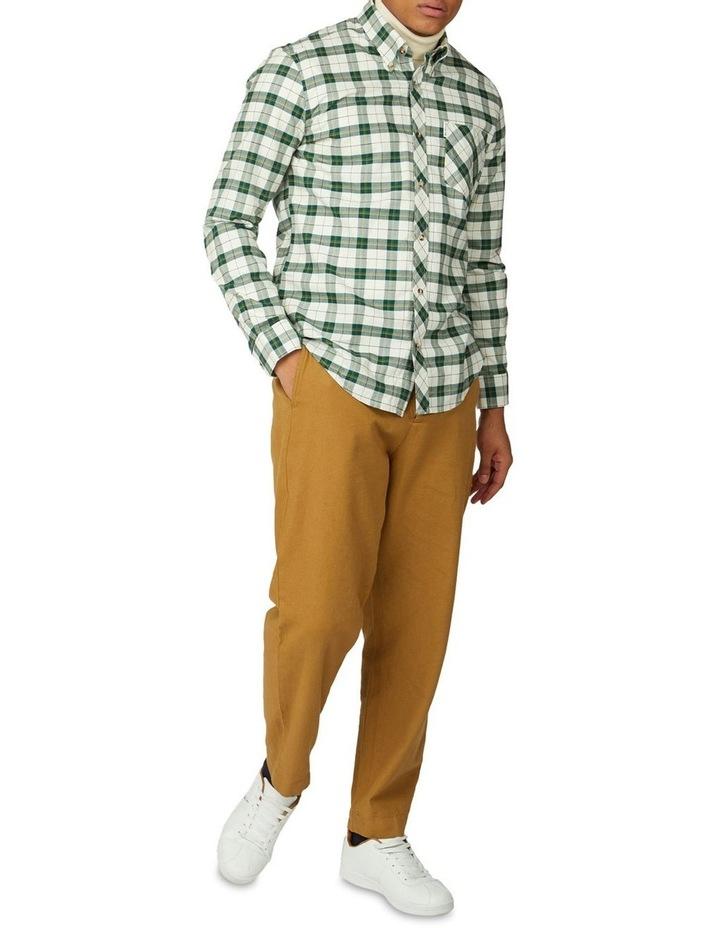 Laundered Oxford Tartan Long Sleeve Shirt image 5