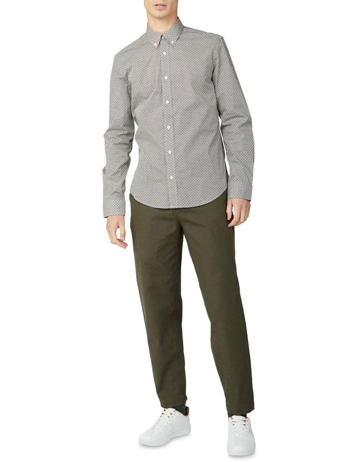 Mono Geo Print Long Sleeve Shirt image 5