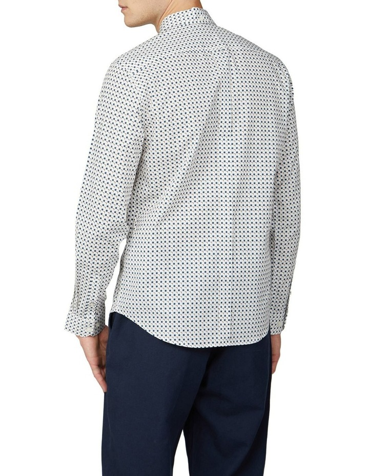 Scattered Square Print Long Sleeve Shirt image 2