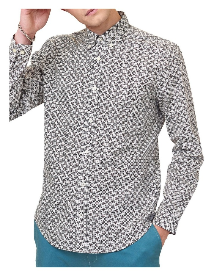 Mini Foulard Print Long Sleeve Shirt image 1