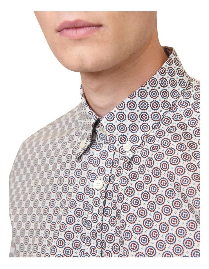 Mini Foulard Print Long Sleeve Shirt image 2
