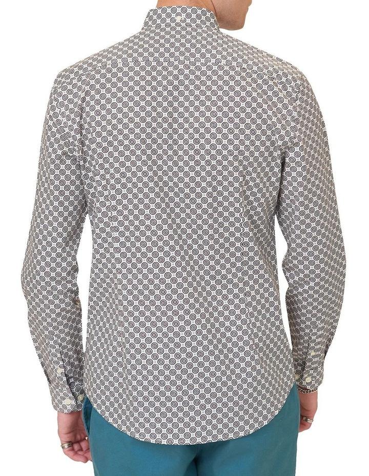 Mini Foulard Print Long Sleeve Shirt image 3