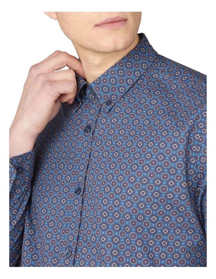 Long Sleeve Mini Foulard Print Shirt image 3