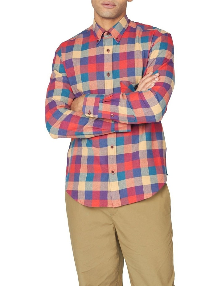 Long Sleeve Recycled Check Shirt image 1