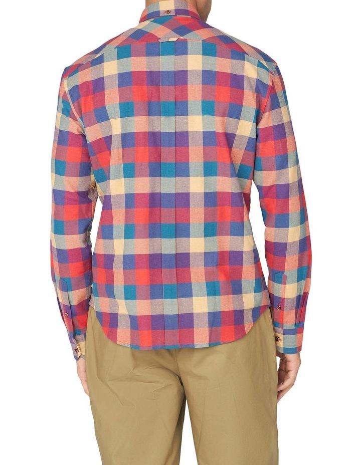 Long Sleeve Recycled Check Shirt image 2