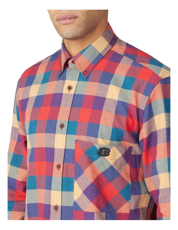 Long Sleeve Recycled Check Shirt image 3