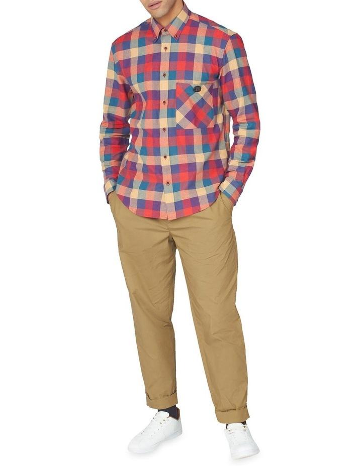 Long Sleeve Recycled Check Shirt image 4