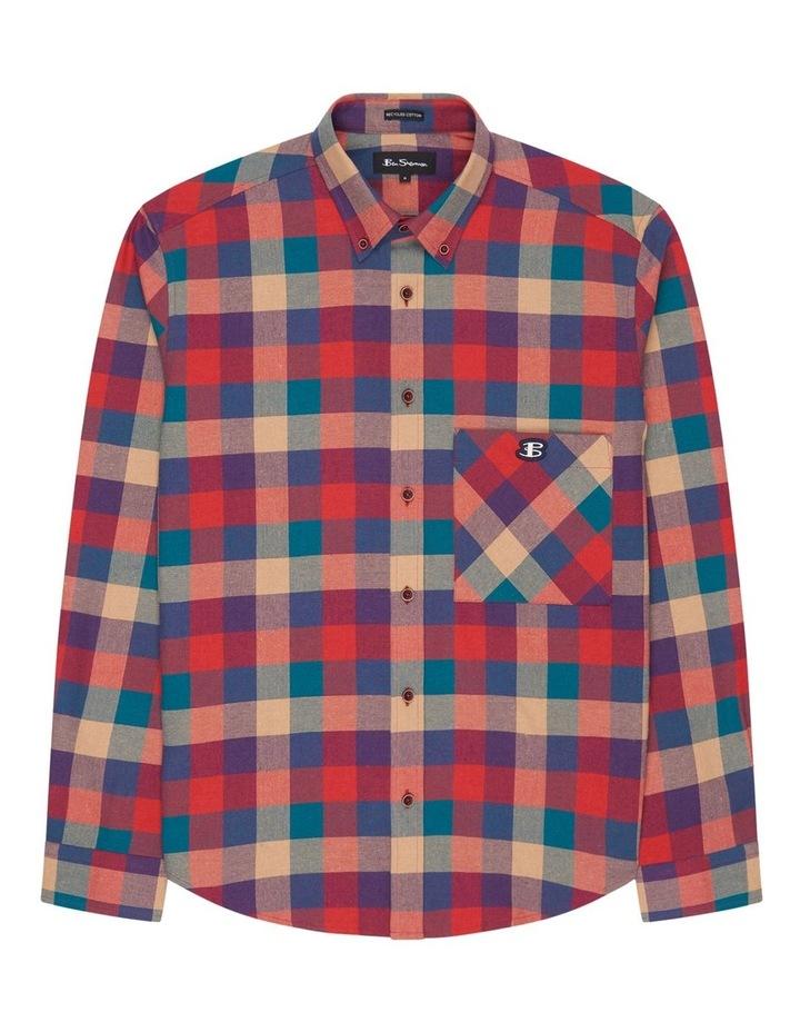Long Sleeve Recycled Check Shirt image 5