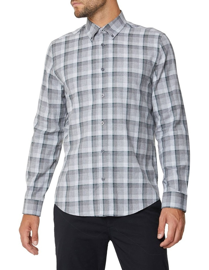 Long Sleeve Mod Brushed Shirt image 1
