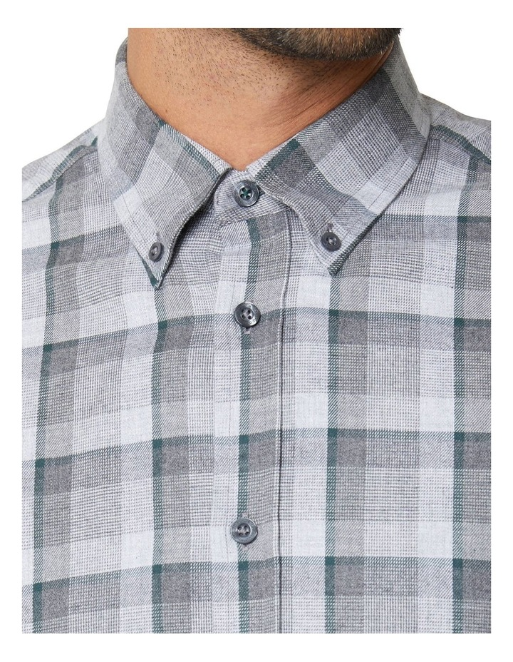 Long Sleeve Mod Brushed Shirt image 4