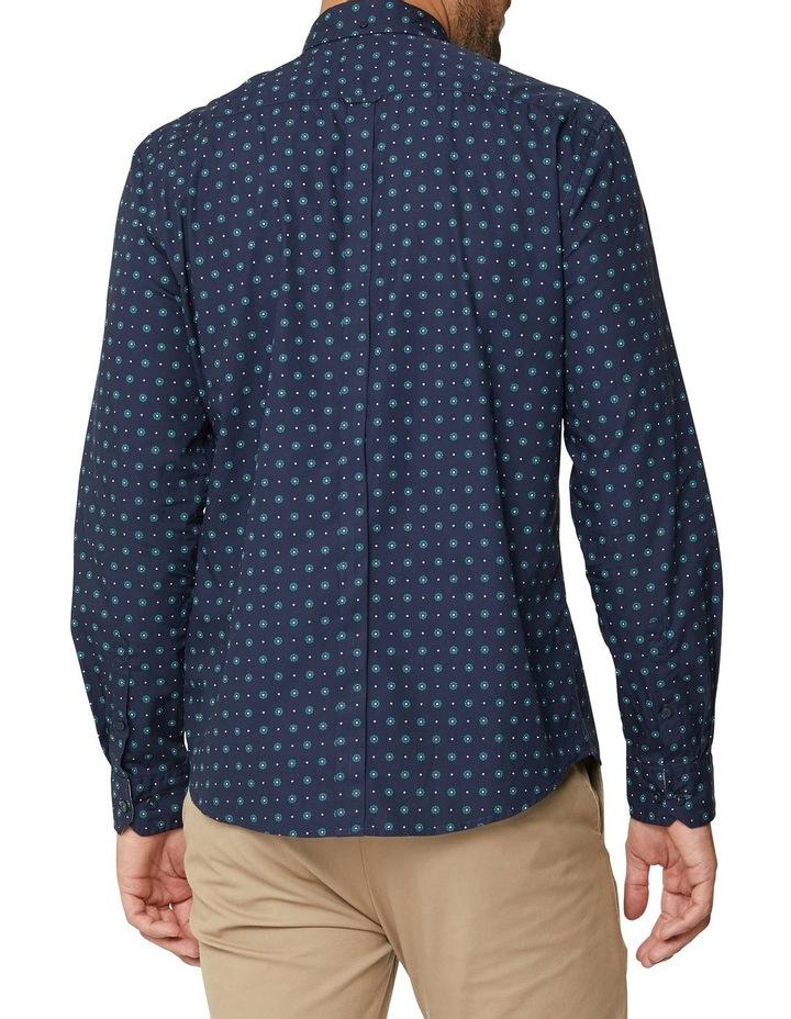 Graphic Geo Long Sleeve Mod Shirt image 3