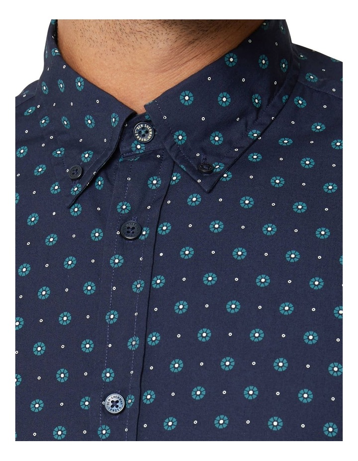 Graphic Geo Long Sleeve Mod Shirt image 4
