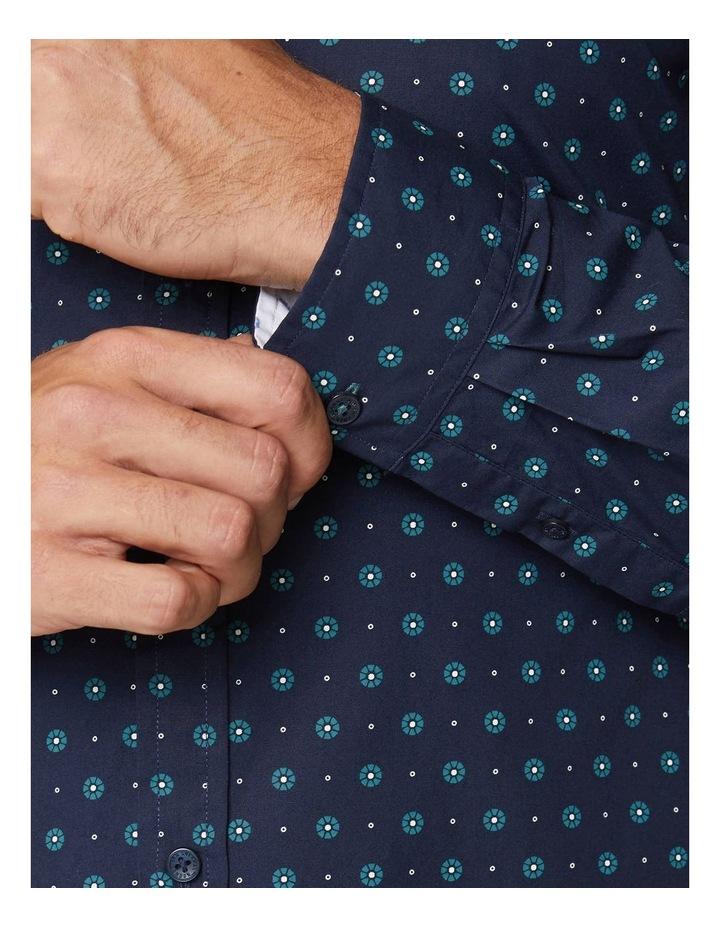 Graphic Geo Long Sleeve Mod Shirt image 6