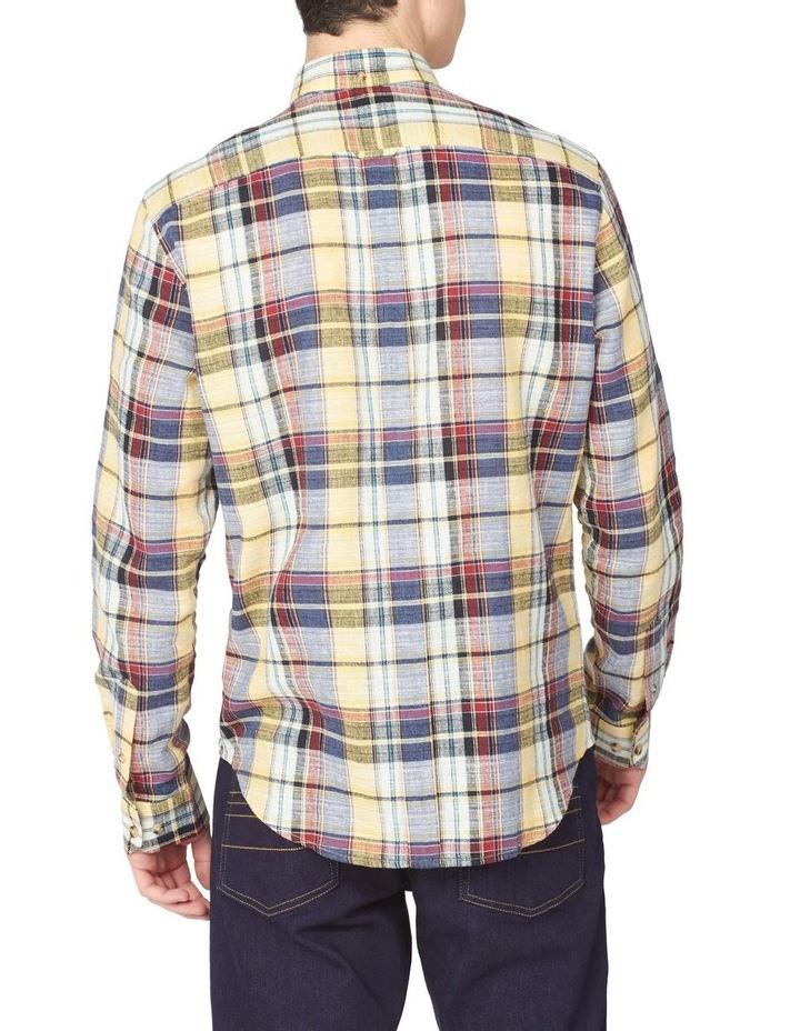 Long Sleeve Slub Madras Check Shirt image 2