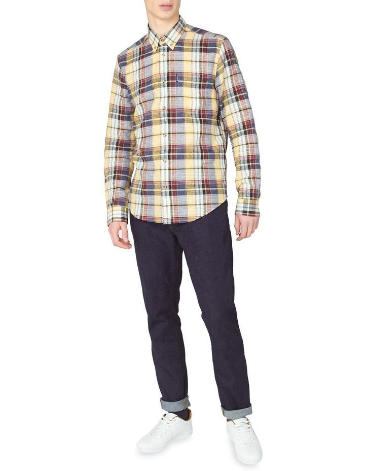 Long Sleeve Slub Madras Check Shirt image 4