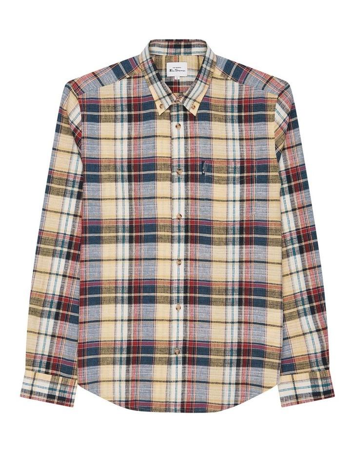 Long Sleeve Slub Madras Check Shirt image 6