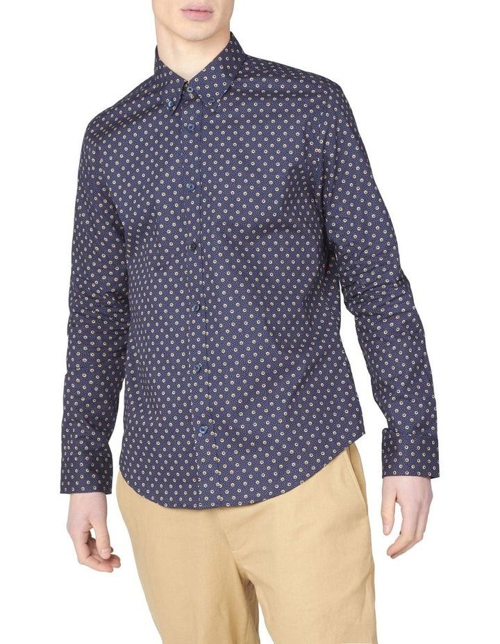 Long Sleeve Target Spot Print Shirt image 1