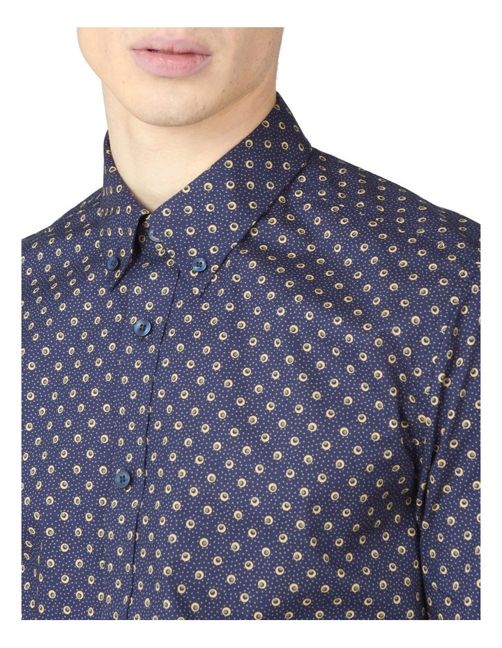 Long Sleeve Target Spot Print Shirt image 3