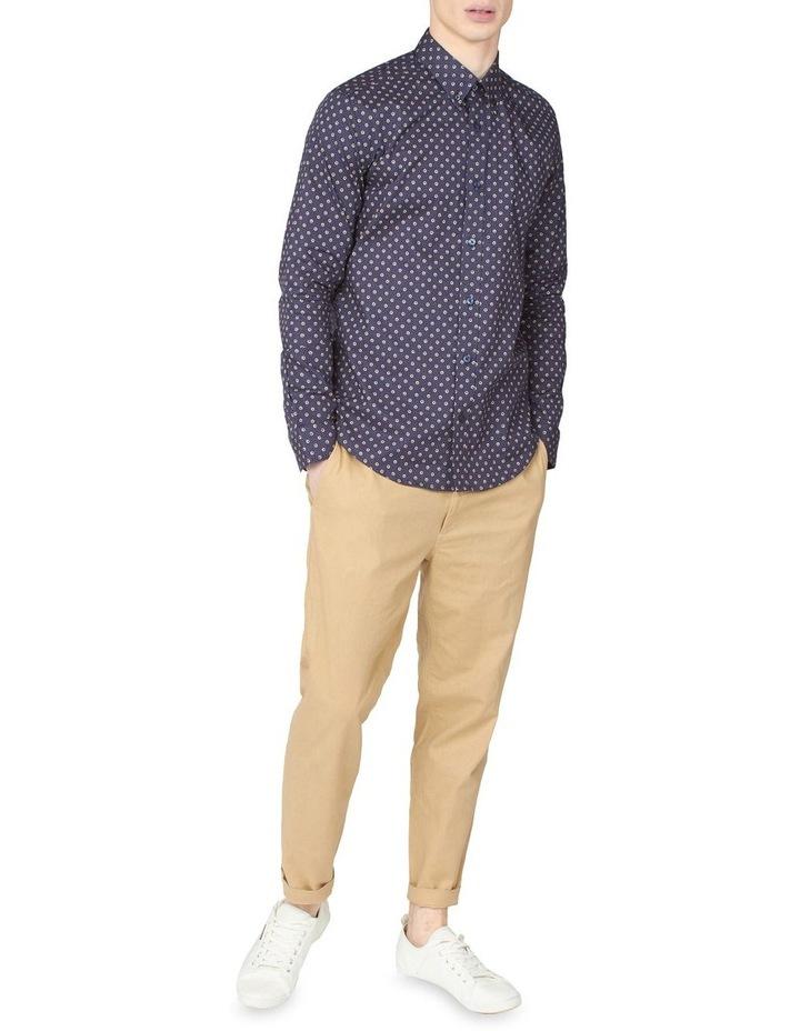 Long Sleeve Target Spot Print Shirt image 4