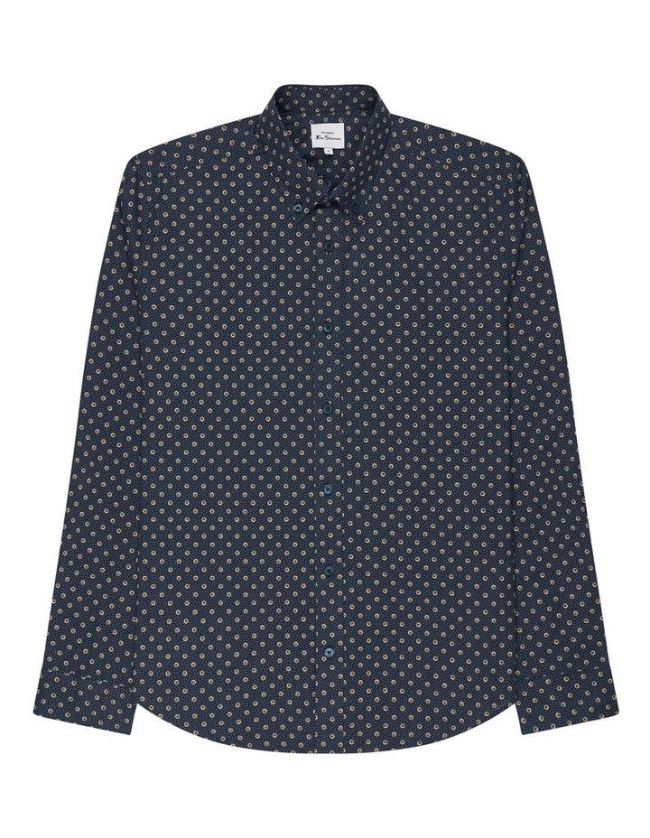 Long Sleeve Target Spot Print Shirt image 6