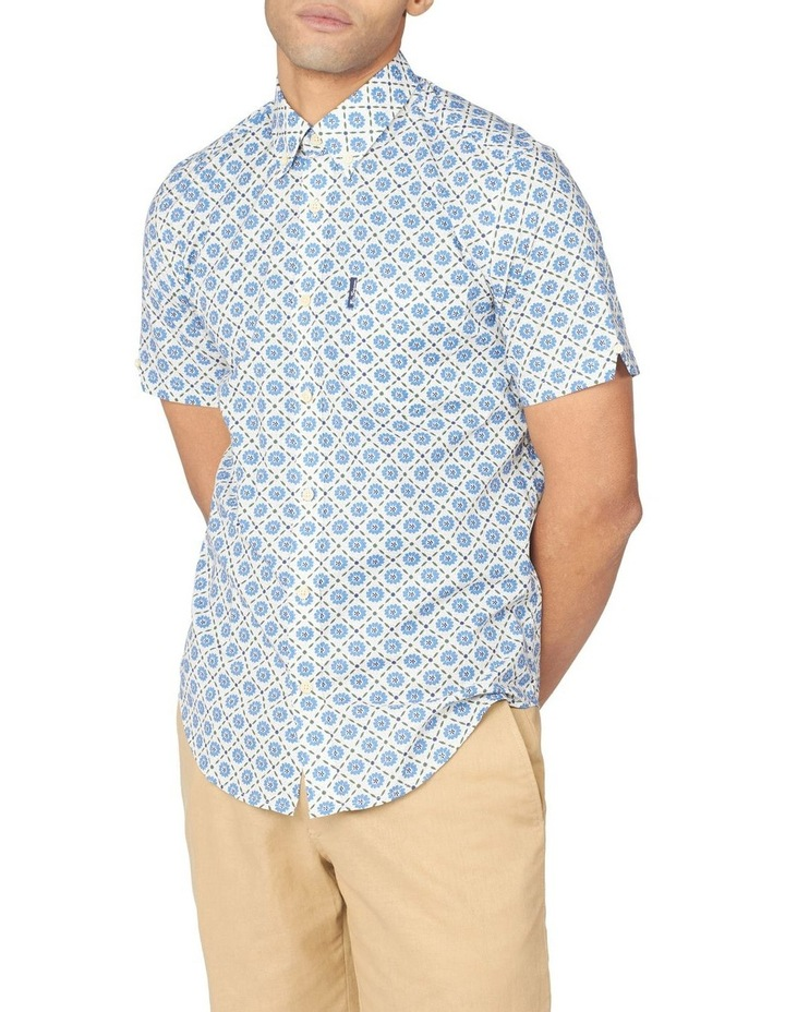 Block Floral Short Sleeve Shirt image 1