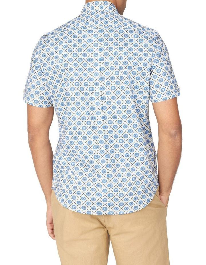 Block Floral Short Sleeve Shirt image 2