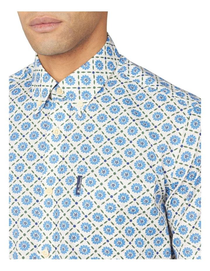Block Floral Short Sleeve Shirt image 3