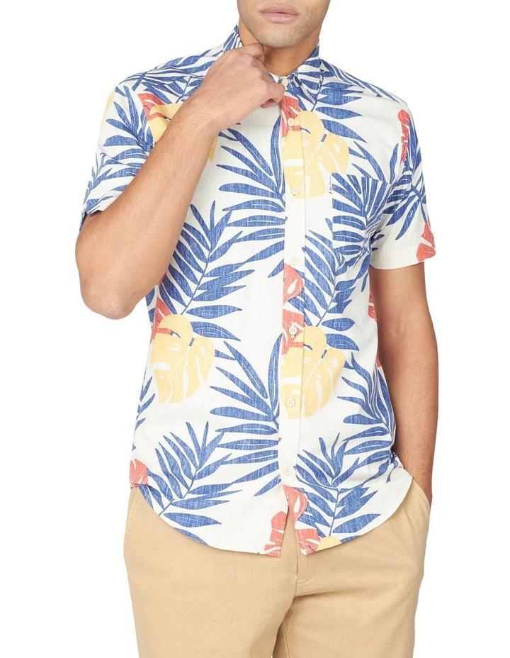 Reverse Palm Print Short Sleeve Shirt image 1