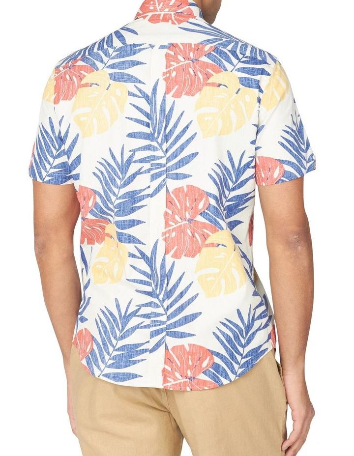 Reverse Palm Print Short Sleeve Shirt image 2