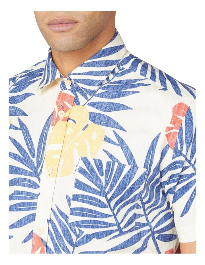 Reverse Palm Print Short Sleeve Shirt image 3