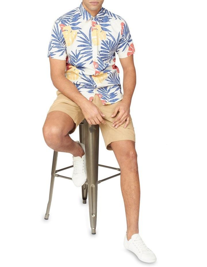 Reverse Palm Print Short Sleeve Shirt image 4