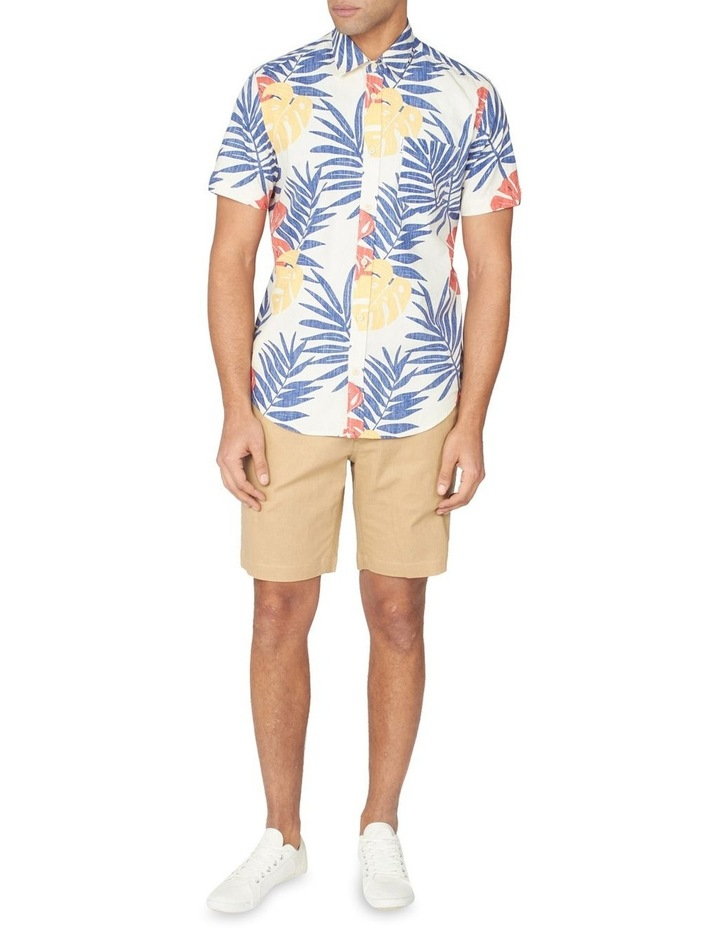 Reverse Palm Print Short Sleeve Shirt image 5