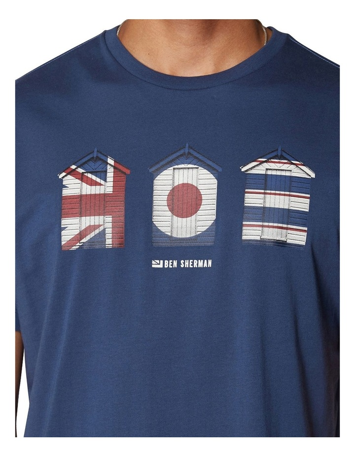 3 Huts Graphic T-Shirt image 4