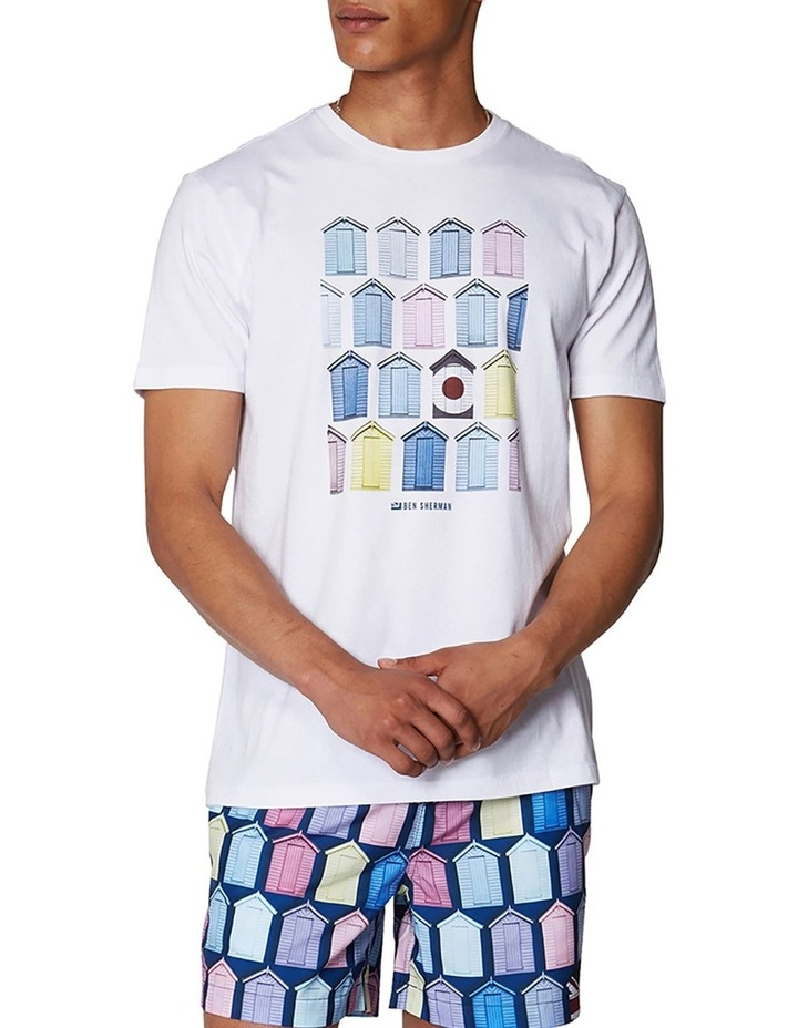 Beach Hut Tee image 1