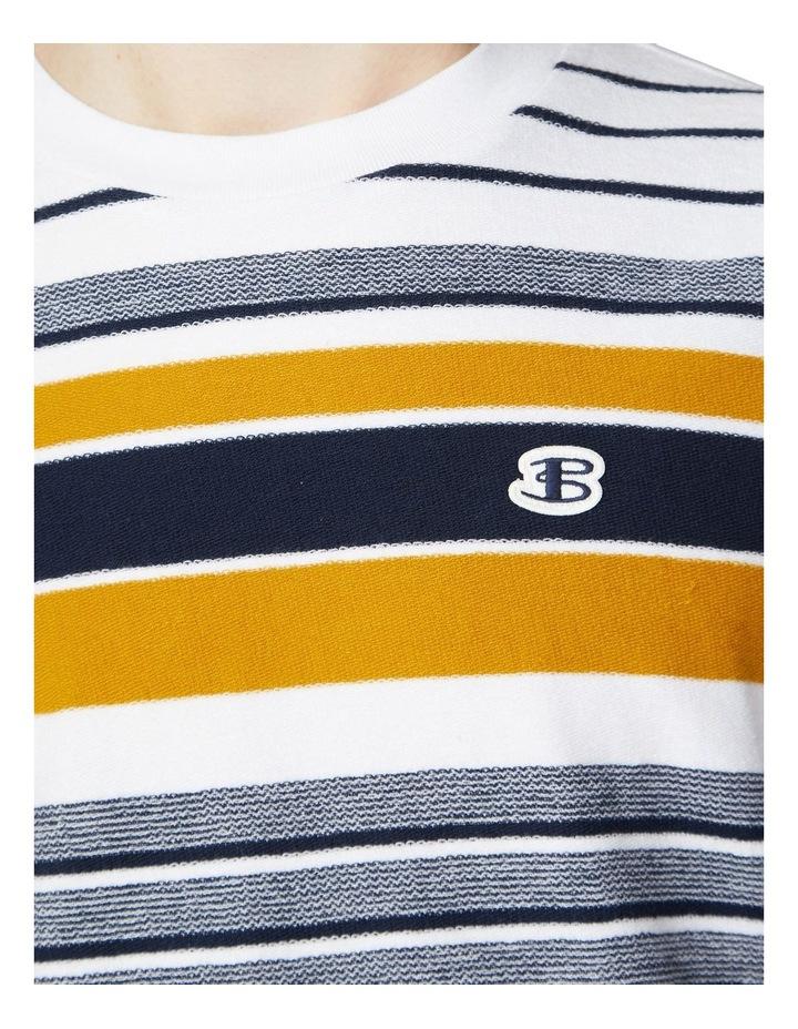 Reverse Knit Stripe Tee image 3