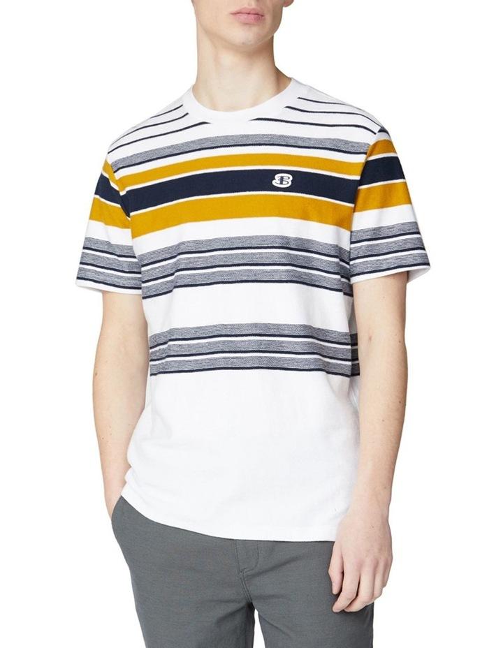 Reverse Knit Stripe Tee image 4