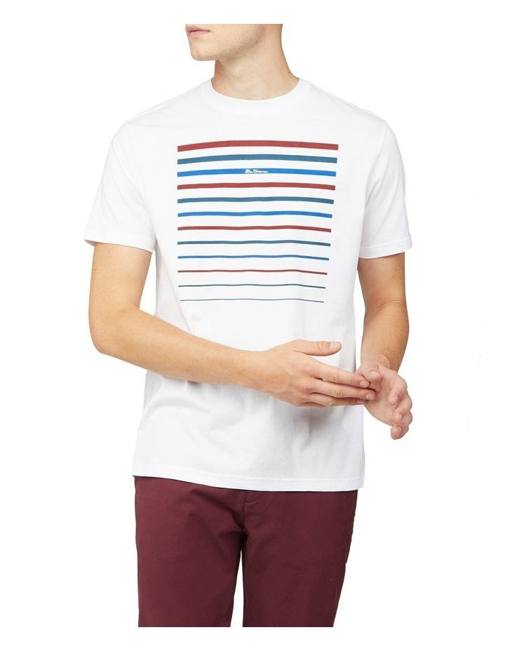 Cropped Stripe Tee image 1