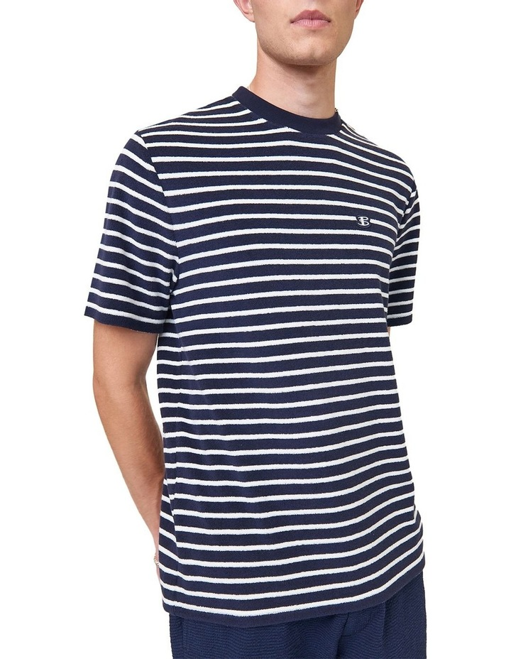 Textured Stripe Tee image 2