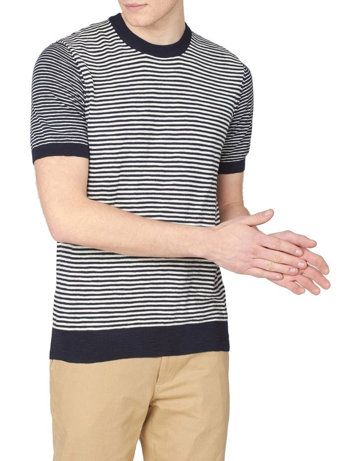 Stripe Knitted Tee image 1