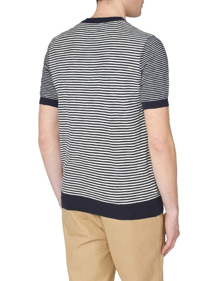 Stripe Knitted Tee image 2