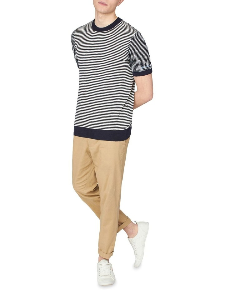 Stripe Knitted Tee image 4