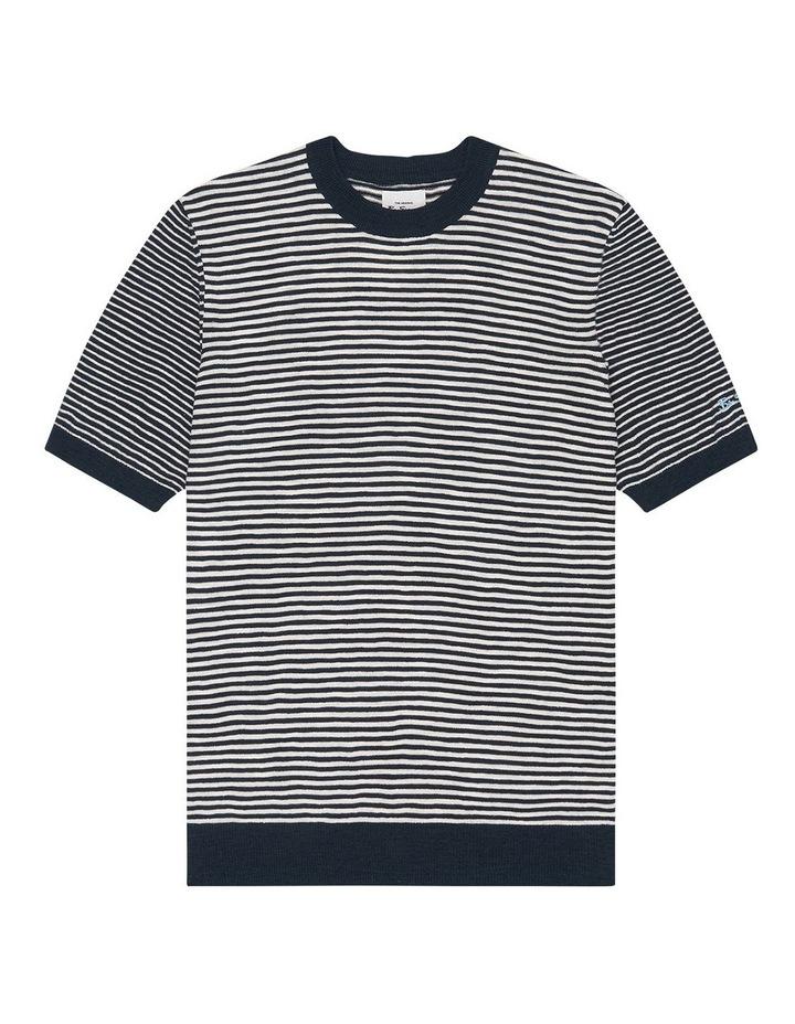 Stripe Knitted Tee image 6