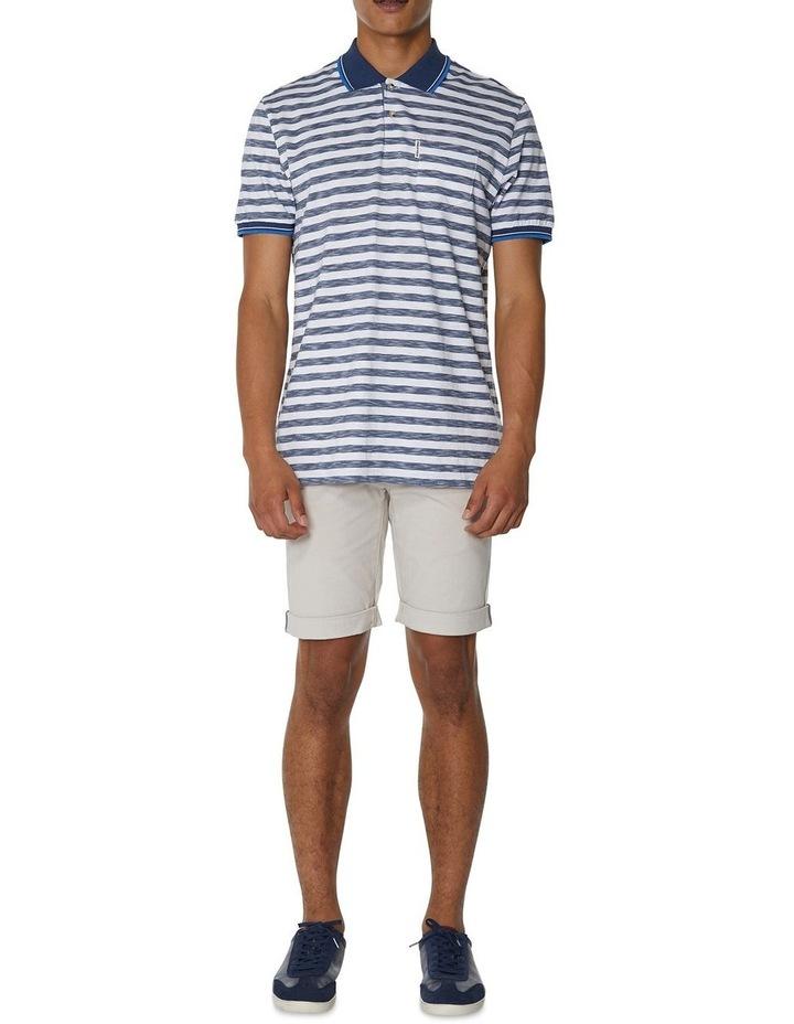 Slub Stripe Pocket Polo image 4