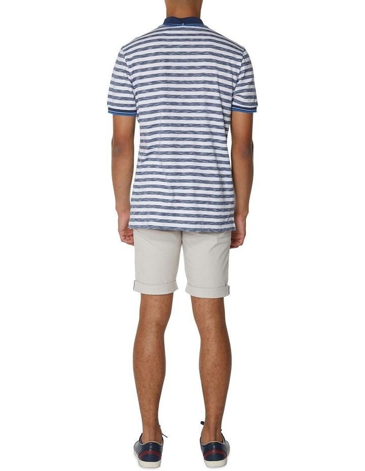 Slub Stripe Pocket Polo image 5